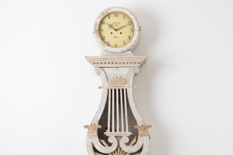 Long Case Clock in Empire Style from Sweden
