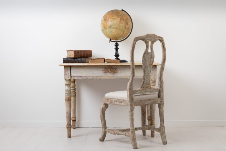 Swedish Desk or Side Table from Late 1800s