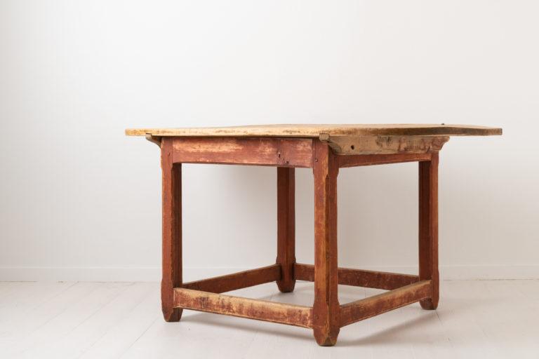 Rustic Baroque Centre Table in Folk Art