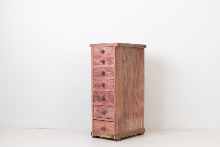 Unusual Chest of Drawers with Seven Drawers