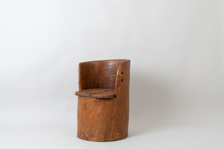 Rustic Kubbstol from the late 1700s Sweden