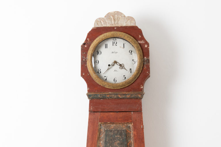 Gustavian Long Case Clock from Northern Sweden