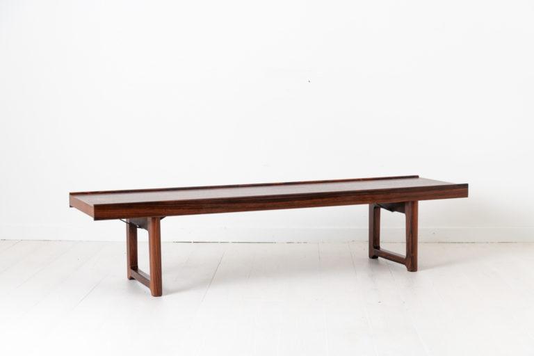 Scandinavian Modern Krobo Bench by Torbjørn Afdal