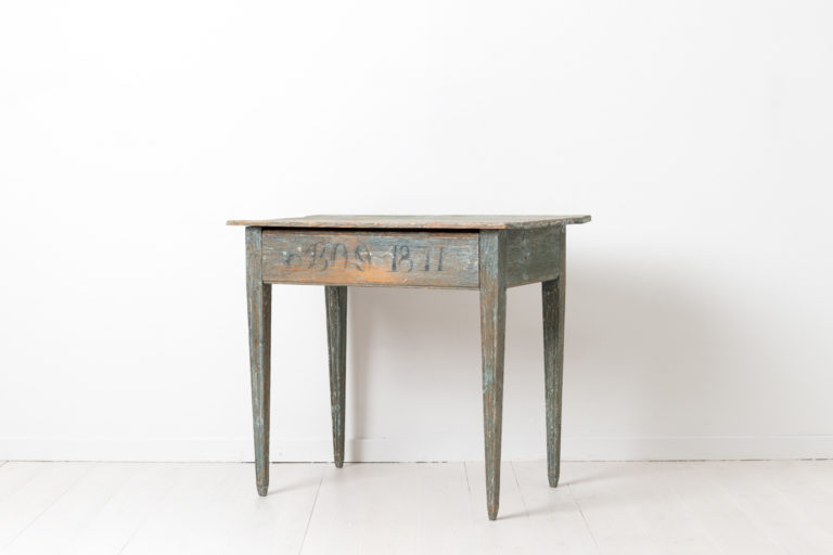 Swedish Gustavian Wall Table from Northern Sweden