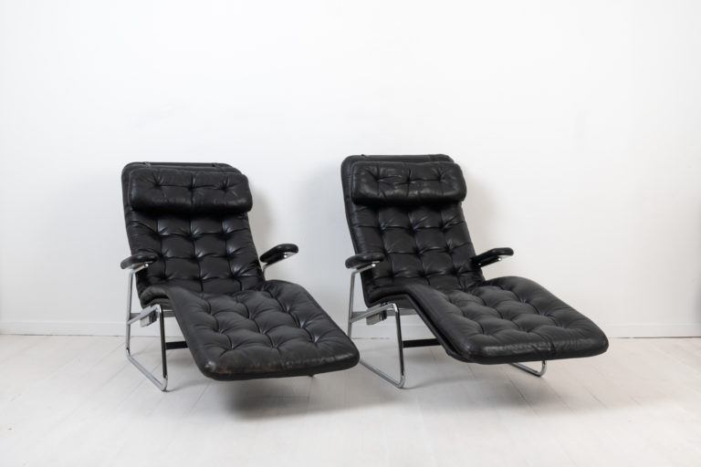 Fenix Lounge Chairs for DUX by Sam Larsson