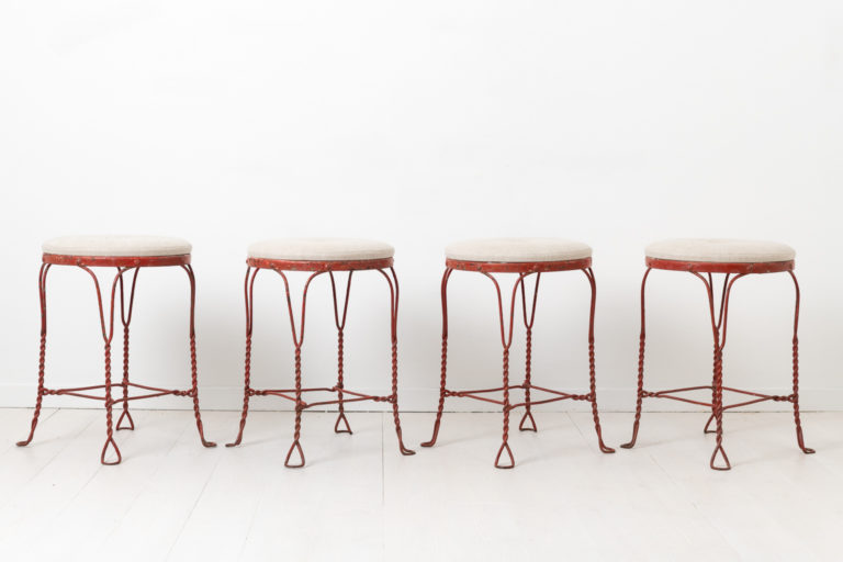 Mid Century Modern Stools from Sweden