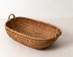 Northern Swedish country basket from the late 1800s. For more Miscellaneous