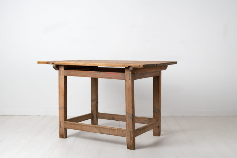 Rustic Country Work Table in Swedish Pine