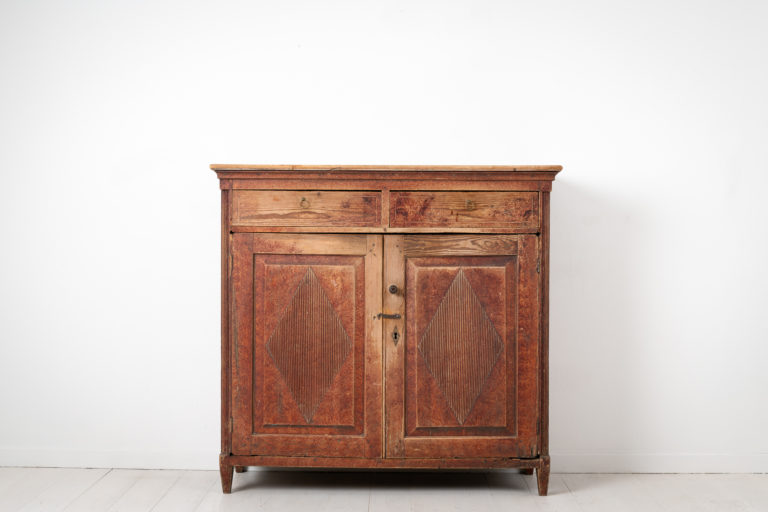 Northern Swedish Gustavian Sideboard from the Late 1700s