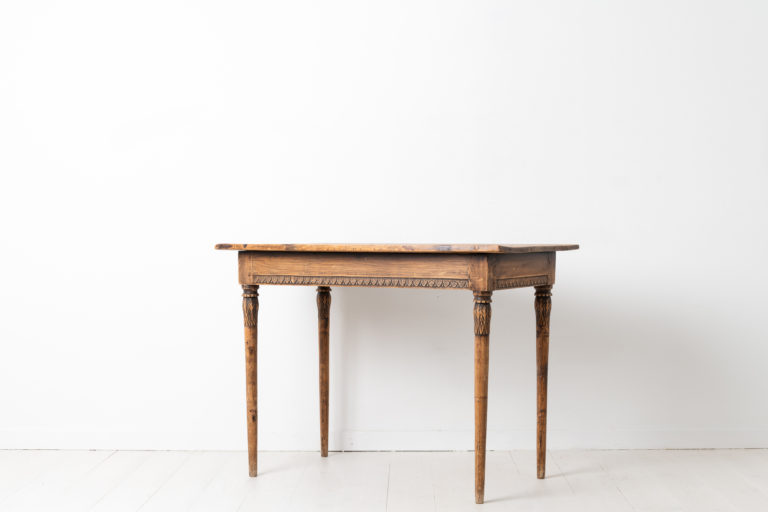 Gustavian Side Table from the Late 18th Century