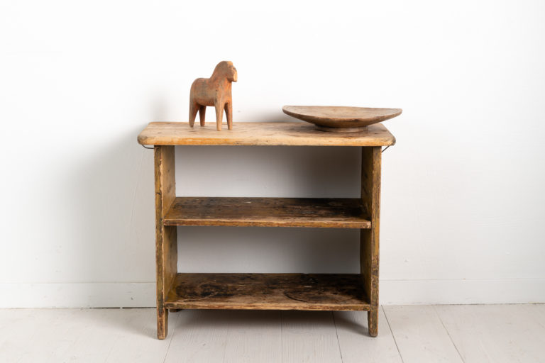 Combined Country Shelf and Table from Sweden