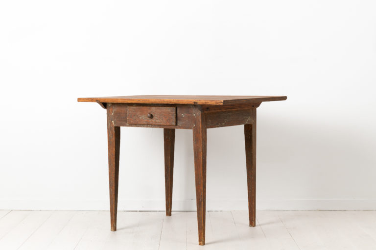 Gustavian Provincial Wall Table from Northern Sweden