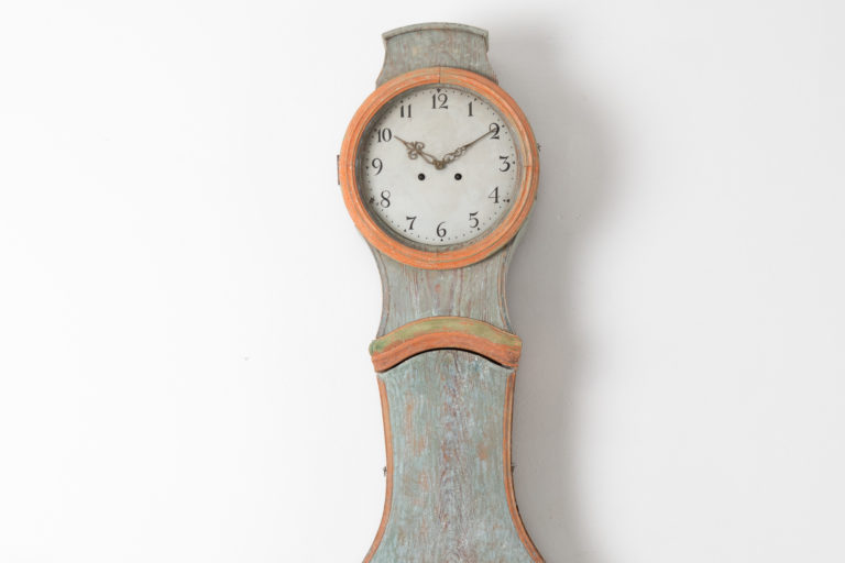 Classic Rococo Longcase Clock from Northern Sweden