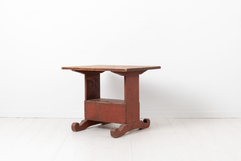 Country Folk Art Table from the Late 18th Century