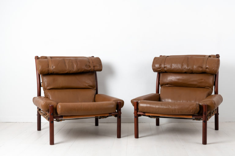 Inca Armchairs by Arne Norell Designed 1971