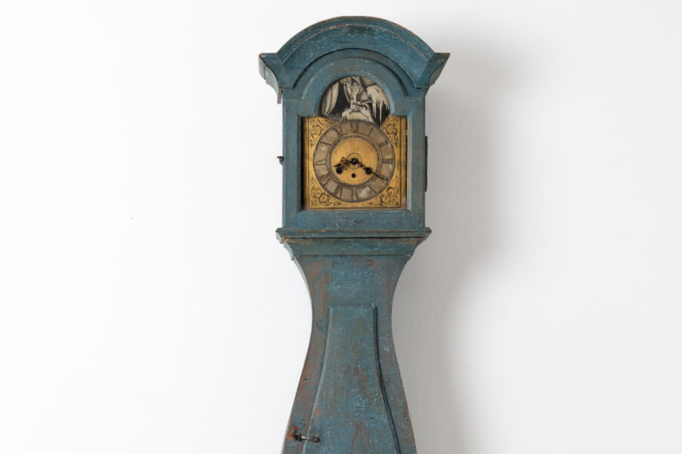 Baroque Long Case Clock from Sweden