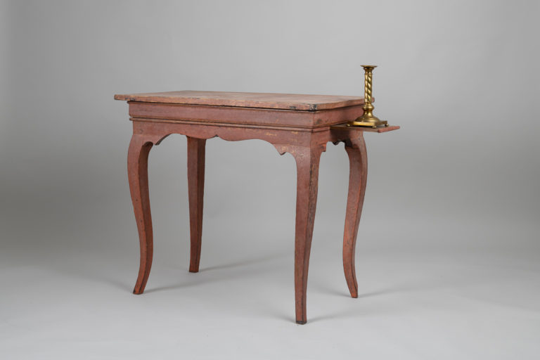 Swedish Rococo Table of the Period in Pine