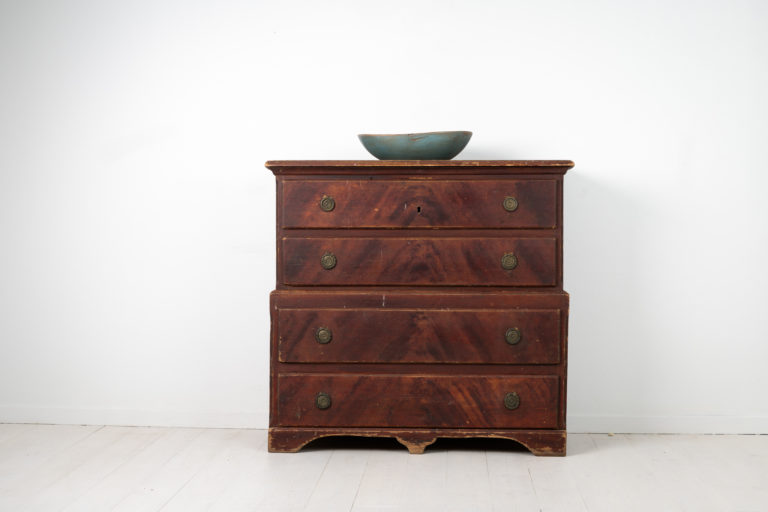 Gustavian Chest on Chest from Northern Sweden